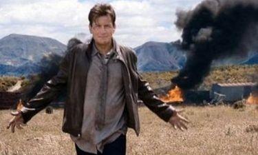 Ο Charlie Sheen σε νέο σποτ για το Anger Management
