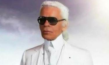 O Θεός είναι ο… Karl Lagerfeld
