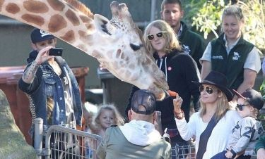 Nicole Richie: Οικογενειακώς στο Ζωολογικό Κήπο