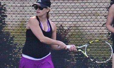 Reese Witherspoon: Τέννις… εγκυμοσύνης!