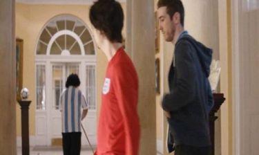 Euro 2012: Αντιδράσεις για την διαφήμιση με τον Μαραντόνα-καθαρίστρια! (vid)