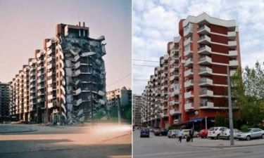 Σαράγεβο: Η μεταμόρφωση από τις πληγές του πολέμου