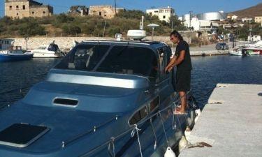 Πρίντεζης - Τσιάμη: Έδωσε στο σκάφος του το όνομα της αγαπημένης του!