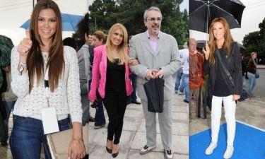 Ποιοι celebrities παρευρέθησαν στην τελετή παράδοσης της Ολυμπιακής Φλόγας (φωτό)