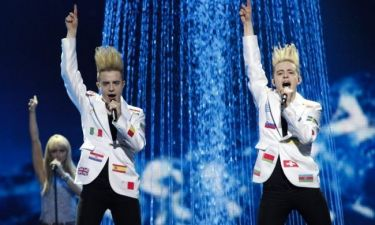 Eurovision 2012: Με τις σημαίες όλων των χωρών η Ιρλανδία