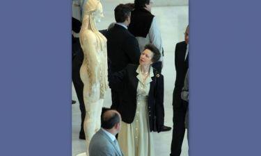Η πριγκίπισσα Άννα στο μουσείο της Ακρόπολης! (φωτό)
