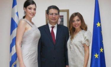 Eurovision 2012: Ελευθερίου και Αδάμου επισκέφθηκαν τον Έλληνα πρέσβη στο Μπακού