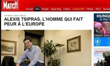 Paris Match: «Αλέξης Τσίπρας, ο άνθρωπος που φοβάται η Ευρώπη»