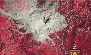 ΒΙΝΤΕΟ: Καρέ – καρέ η ανάκαμψη σε περιοχή ηφαιστειακής έκρηξης