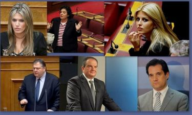 Αυτοί είναι οι most Loved and Hated πολιτικοί τις είκοσι μέρες του Μάη!