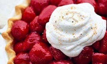 Η καλύτερη τάρτα φράουλας
