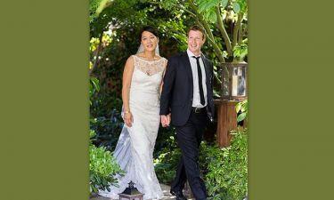 Ο Mr Facebook παντρεύτηκε!
