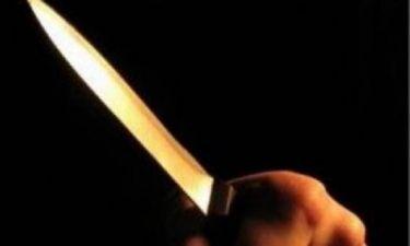 Σοκ: Έσφαξε τη γυναίκα με το κουζινομάχαιρο