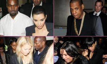 Ο Kanye, η Kim και το πάρτι στο Λονδίνο