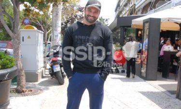 Δαυίδ Σαμαράς: Με χαλαρή διάθεση και σπορ ντύσιμο για καφεδάκι