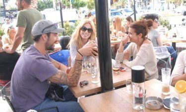 Ντορέττα Παπαδημητρίου: Καφεδάκι και κους-κους με φίλους