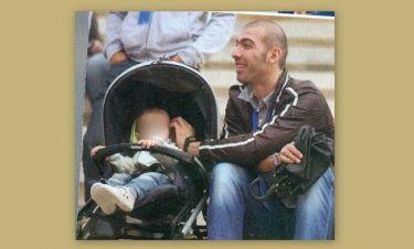 Αλέξανδρος Νικολαϊδης: Ευτυχισμένος μπαμπάς