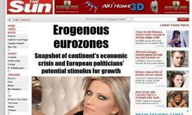 Εύα Καϊλή: Η πιο σέξι πολιτικός της Ευρώπης, σύμφωνα με τη Sun