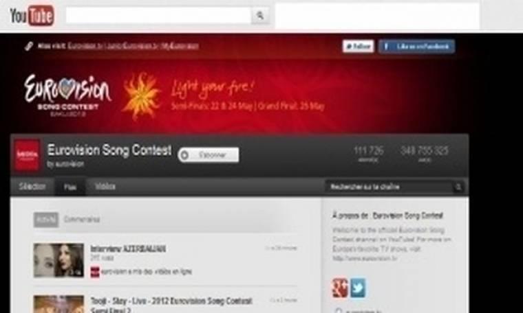 Εurovision 2012 τελικός: Τα φαβορί σύμφωνα με το YouTube!