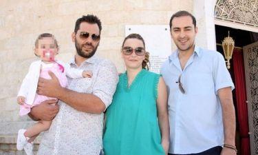 Το φωτογραφικό άλμπουμ από τη βάφτιση της κόρης της Σοφίας Φαραζή!