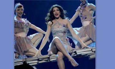 Eurovision 2012: Χωρίς άγχος η Ήβη Αδάμου