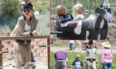 Gwen Stefani: Οικογενειακή βόλτα στο ζωολογικό κήπο