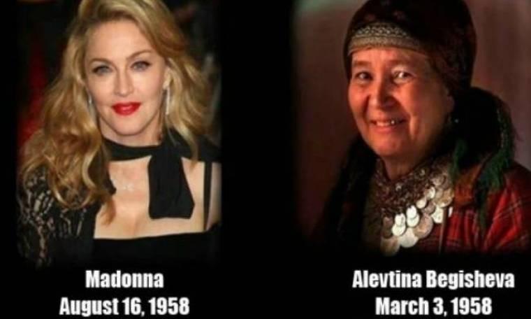 Η συνομήλικη ρωσίδα «γιαγιά» της Eurovision με τη Μαντόνα
