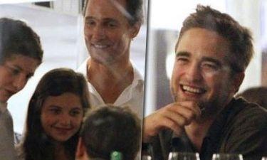 Robert Pattinson-Matthew McConaughey: Δείπνησαν αλά γαλλικά και αναστάτωσαν