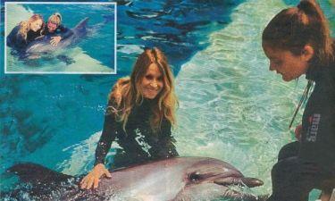 Η Αννίτα, η Κατερίνα και… τα δελφίνια!