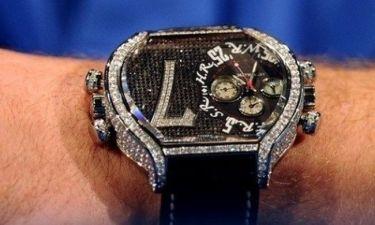 Ένα ρολόι γεμάτο… διαμάντια για τον Ριμπερί