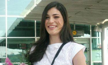 Ήβη Αδάμου: Η άφιξή της στην Κύπρο!