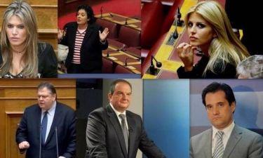 «Love and Hate»: Πώς τα πήγαν οι πολιτικοί τον Μάιο;