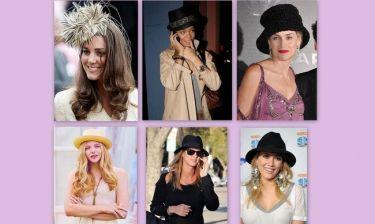 Όταν οι stars φοράνε καπέλα