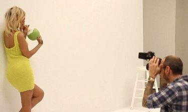 Η Rihanna στα παρασκήνια νέας της φωτογράφησης