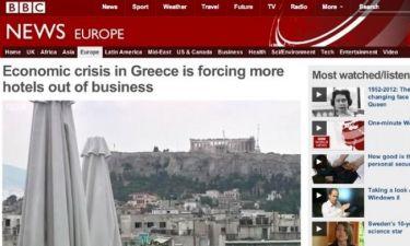 «Λουκέτο» στα ξενοδοχεία στην Ελλάδα λόγω κρίσης γράφει το BBC (vid)