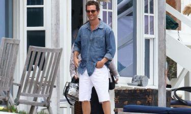 Matthew McConaughey: Φωτογράφηση στο Μαλιμπού