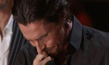 Τα δάκρυα του Christian Bale