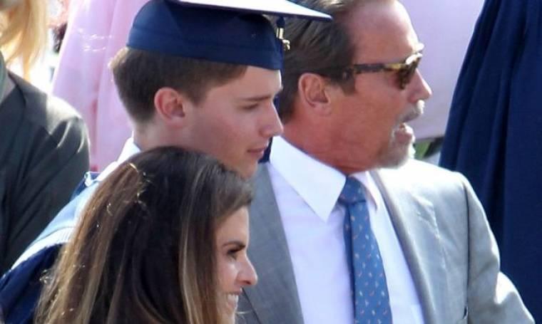 Ο Patrick Schwarzenegger αποφοίτησε