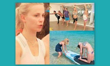 Οι celebrities ψηφίζουν yoga… by the sea!