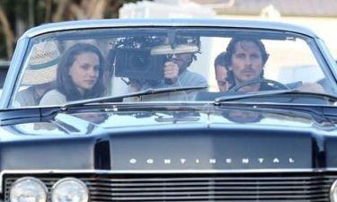 Natalie Portman και Christian Bale στο Knight Of Cups