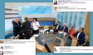 Χαμός στο διαδίκτυο για την επίθεση του Κασιδιάρη στην Κανέλλη