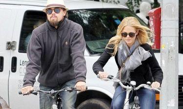 Leonardo Di Caprio: Ποδηλατάδα με την σύντροφό του