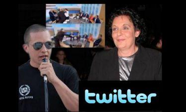Οι celebrities σχολιάζουν το περιστατικό Κανέλλη-Κασιδιάρη στο twitter