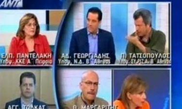 """Και ο Άδωνις Γεωργιάδης """"θύμα"""" του Ηλία Κασιδιάρη!"""