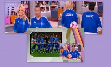 Η Σκορδά, η φανέλα της Εθνικής και το μπέρδεμα!