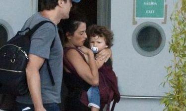 Penelope Cruz – Javier Bardem: Με το γιο τους στη Μαδρίτη