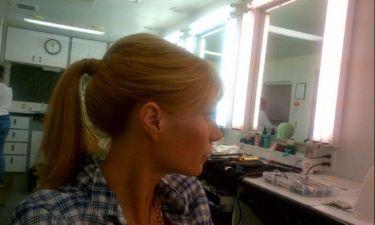 Η Gwyneth Paltrow στα πλατό του Iron Man 3