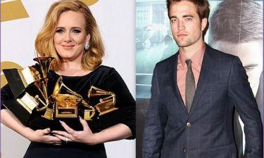 Τι τρέχει μεταξύ του Robert Pattinson και της Adele;