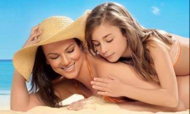 Μάνια Ντέλλου: Φωτογράφηση για διαφήμιση μαζί με την κόρη της
