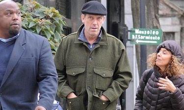 Hugh Laurie: Επιτέλους με την οικογένειά του